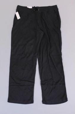 Croft & Barrow Women's Straight Mid Rise Sweat Pants SV3 Gra