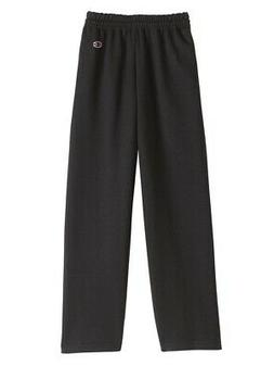 Champion - Double Dry Eco Youth Open Bottom Sweatpants with