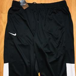 Nike Dri-Fit Rivalry Warm Up Athletic Pants Sweatpants, Blac