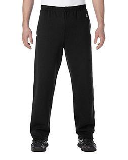 Dri-Power Open-Bottom Fleece Pocket Pant - BLACK - M Dri-Pow
