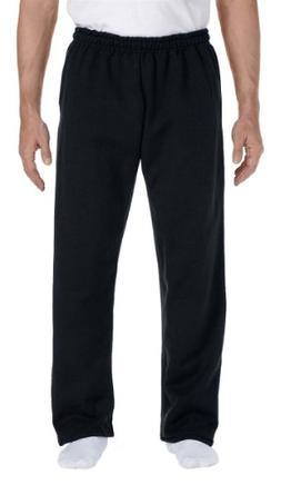 Gildan Mens 9.3 oz. DryBlend 50/50 Sweatpants G123 -BLACK M