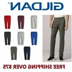 Gildan Dryblend Open Bottom Mens Pocketed Sweatpants 12300 8