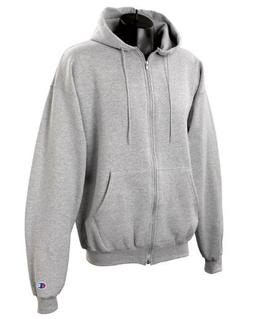 Champion S800 50/50 EcoSmart Full-Zip Hood - Light Steel - M