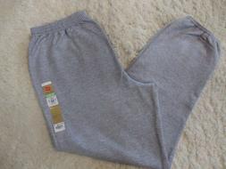 Hanes EcoSmart Cinch Leg Sweatpants Men's Size L Gray