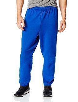 Hanes Men's EcoSmart Fleece Sweatpant, Deep Royal, X-Large