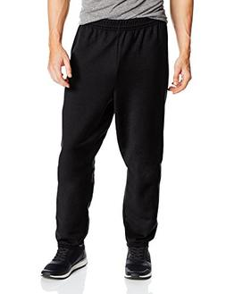 Hanes Men's EcoSmart Fleece Sweatpant, Black, XX-Large