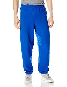 Hanes Men's Ecosmart Fleece Sweatpant, Deep Royal, 3XL