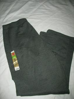 Hanes Ecosmart Women's Plus Size 2X Sweatpants Open Leg HEAT