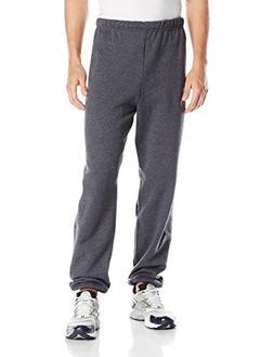 Jerzees Mens Adult Elastic Bottom Sweatpants X Sizes, Black