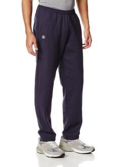 Champion Men's Elastic Hem Eco Fleece Sweatpant, Black, Smal