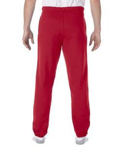 Jerzees Men's Elastic Waist High Stitch Pocket Sweatpant, Tr