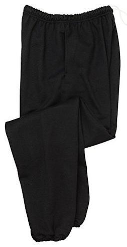 Jerzees Men's Elastic Waist High Stitch Pocket Sweatpant, Bl