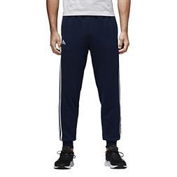adidas Men's Essentials 3-Stripe Jogger Pants, Collegiate Na