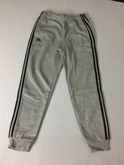 adidas Men's Essentials 3-Stripe Jogger Pants, Medium Grey H