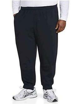 Essentials Men's Big & Tall Closed Bottom Fleece Pant fit, N