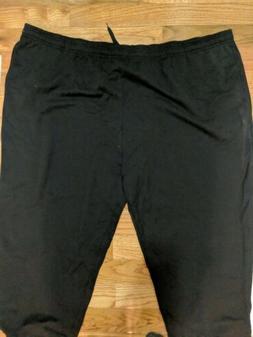 Amazon Essentials Men's Black Joggers Fleece Sweatpants Si