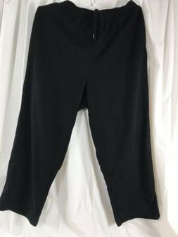 Amazon Essentials Men's  Black Joggers Sweatpants Size 2XL