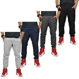 Alta Fashion Men's Plain Slim Casual Sweatpants Joggers with