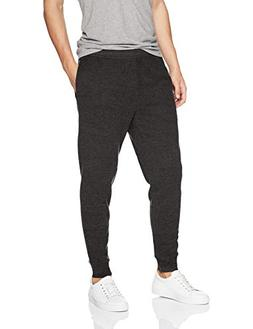 Amazon Essentials Men's Fleece Jogger Pant, Charcoal, Large