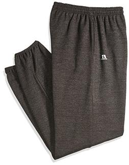 Russell Athletic Men's Big and Tall Fleece Pant, Charcoal, 2