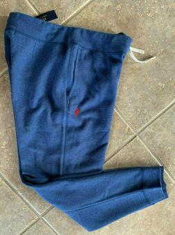 Polo Ralph Lauren Fleece Sweat Pants Joggers Mens XXL Navy H