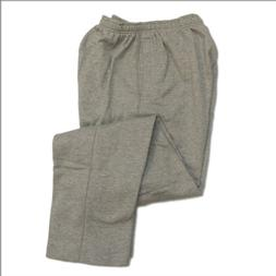 Pro Club Fleece Sweatpants 9.0oz 60/40 Large H/Grey