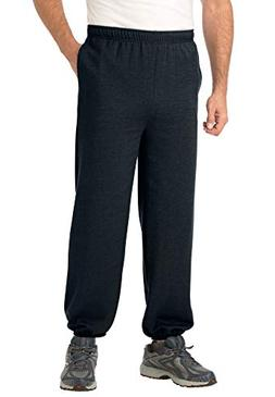 KingSize Men's Big & Tall Fleece Sweatpants With Elastic-Bot