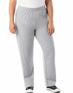 Just My Size Fleece Women Sweatpants Petite Length ComfortSo