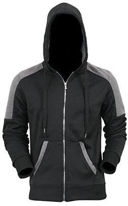 Hat and Beyond Fleece Zipper Sweatshirts Jackets 8018 S