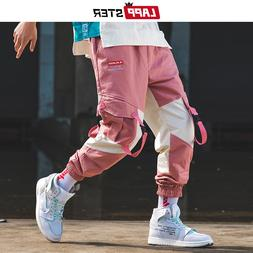 LAPPSTER <font><b>Men</b></font> Streetwear Belt Cargo Pants