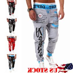 <font><b>Mens</b></font> Hot Jogger Dance Sportwear Baggy Ha