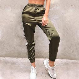 <font><b>Women</b></font> Stripe Side Stain Sexy Pants 2019