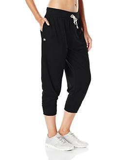 Champion Women's French Terry Jogger Capris Black S