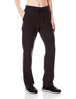 Hanes Women's French Terry Pocket Pant Black M