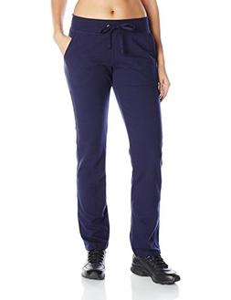 Hanes Women's French Terry Pocket Pant Navy L