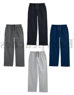 Fruit of The Loom Men's OPEN BOTTOM POCKET Sweatpants, Sweat