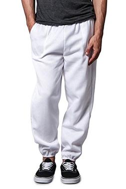 G-Style USA Men's Elastic Cuff Fleece Sweatpants - HILLSP -