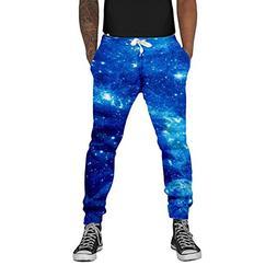Loveternal Galaxy Nebula Printed Casual Joggers Graphic Hips