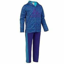 Adidas Girls 2 Piece Set Jacket and Sweatpants Tracksuit