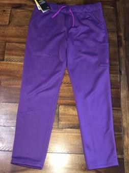 Under Armour Girls Coldgear Storm Sweatpants YXL Purple Flee