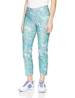 adidas Golf Women's Ultimate Adistar Printed Ankle Pants, Hi
