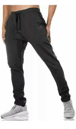 BROKIG Gwings MensJogger Sport Pants,Casual Zipper Gym W
