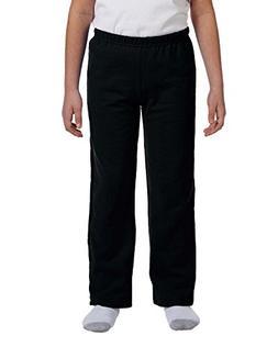 Gildan Boys 7.75 oz. Heavy Blend 50/50 Sweatpants  -Black -M