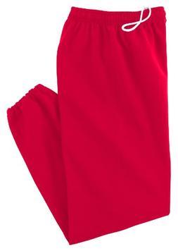 Gildan Heavy Blend 8 oz., 50/50 Sweatpants - RED,2XL