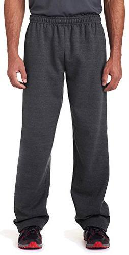 Gildan Adult Heavy-Blend Elastic Waist Open-Bottom Sweatpant