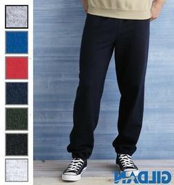 GILDAN Heavy Blend Men's Fleece Premium Sweatpants Sweat Pan