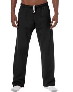 Gildan Mens Heavy Blend Open Bottom Sweatpant / Jogging Pant