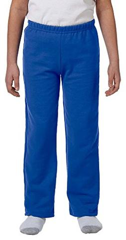 Gildan Heavy Blend Youth 8 oz., 50/50 Open-Bottom Sweatpants