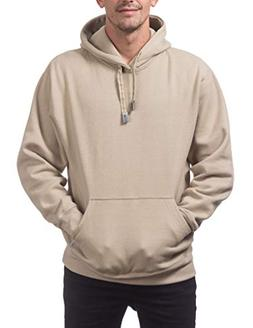Pro Club Men's Heavyweight Pullover Hoodie , Small, Khaki