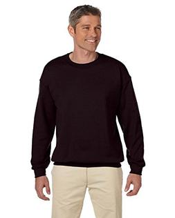 Gildan Men's Heavyweight Waistband Sweatshirt, Dark Chocolat
